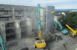 大型施設解体工事