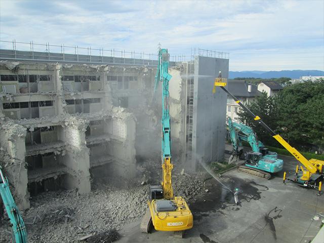 大型施設解体