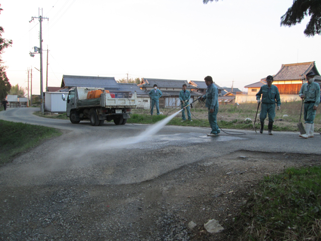 道路汚れ対応