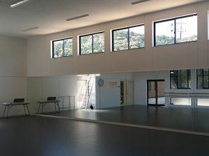 建築工事 バレエスタジオ