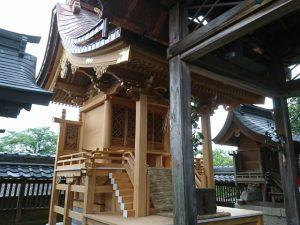 建築工事 小日吉神社様 本殿