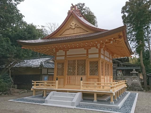 H神社拝殿