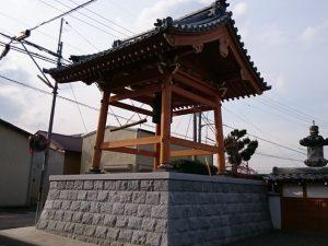 建築工事 法蓮寺様 鐘楼堂