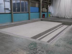 工場メンテナンス ピット工事