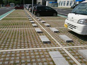 工場メンテナンス 緑化舗装