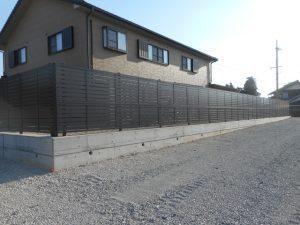 個人宅工事 フェンス
