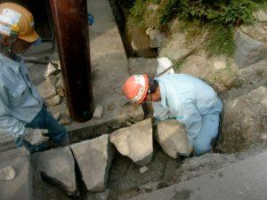 個人宅工事 石積