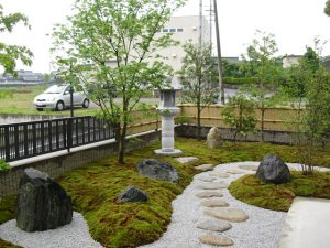 個人宅工事 庭園