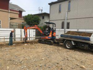 個人宅工事 土工事