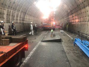 土木工事 トンネル内工事