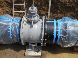 土木工事 工業用水管
