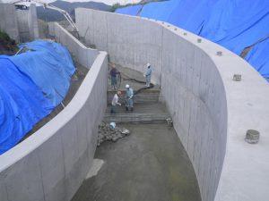 土木工事 大型水路