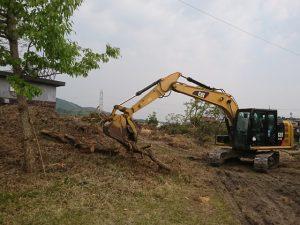 土木工事 伐採