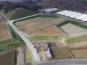土木工事 牧場造成