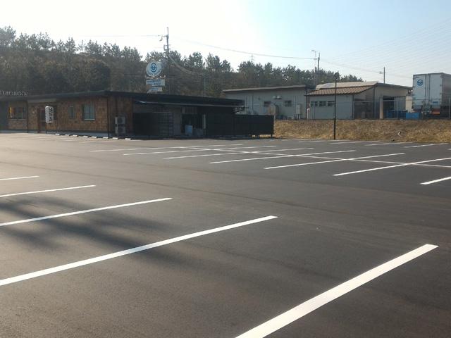 飲食店駐車場