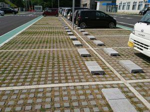 舗装工事 緑化舗装